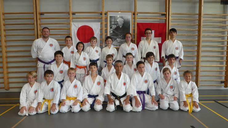 Die erfolgreichen Karatekas