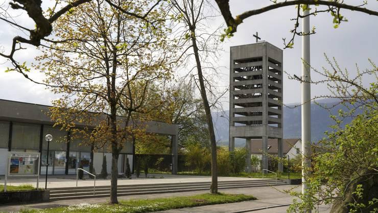 Die Reformierte Kirche Luterbach von aussen
