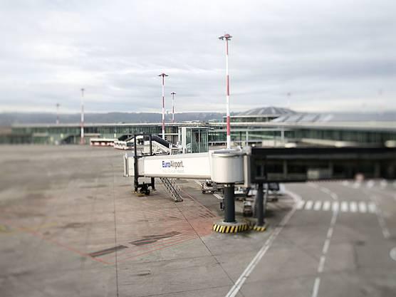 Der Euroairport in Basel hat genügend freie Kapazitäten.