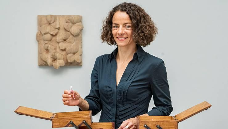 Versucht, die schönen Momente bewusst zu geniessen: Kunsthausdirektorin Ines Goldbach.