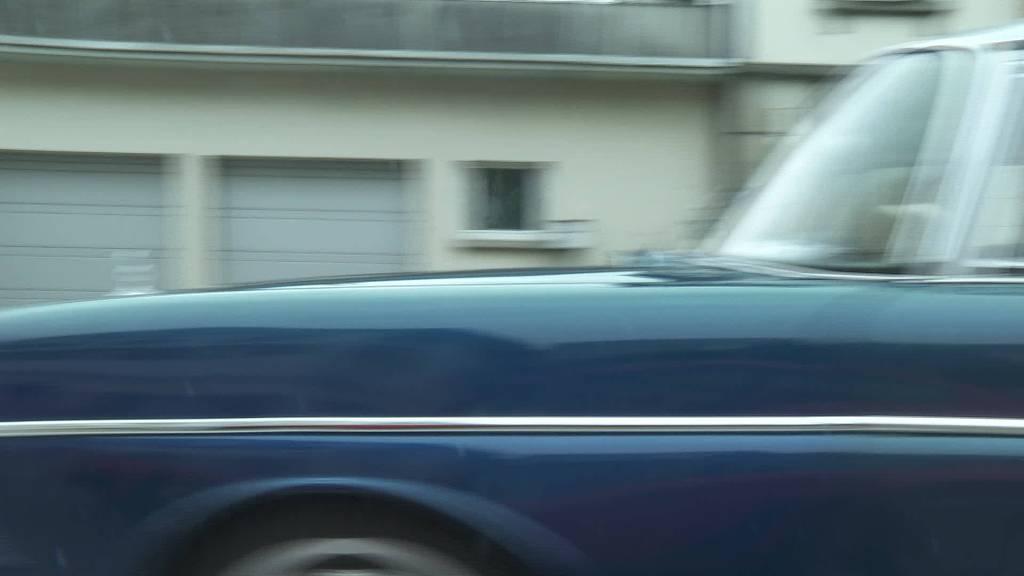 Oldtimer-Ralley: Alte Fahrzeuge geben Vollgas