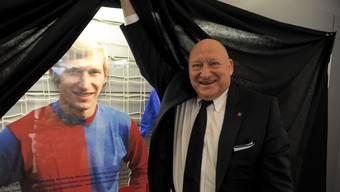 Im FCB Museum im St.Jakob Park findet anlässlich des 70. Geburtstag von Karl Odermatt eine Sonderausstellung statt.