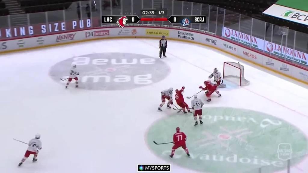 Lausanne siegt mit  4:1 gegen  die Rapperswil-Jona Lakers