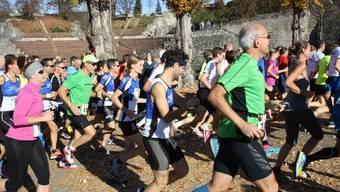 Am Augusta-Raurica-Lauf waren Jung und Alt vertreten.