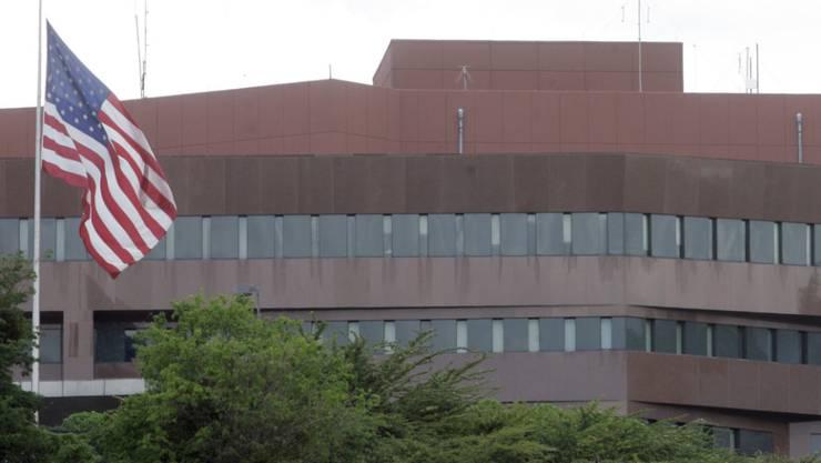 Die US-Botschaft in der venezolanischen Hauptstadt Caracas. (Archivbild)