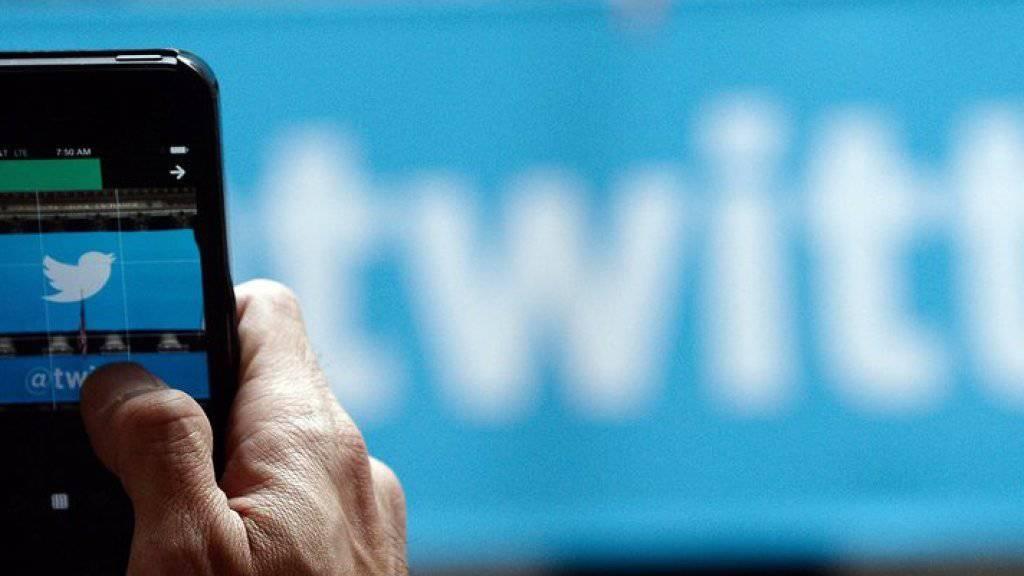 Störung beim Kurzbotschaftendienst: Twitter war zeitweise nicht aufrufbar.