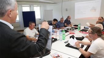 Geschäftsführer Marcel Eheim: «In Ihrem Einsatz repräsentieren Sie auch die Firma GAW.»