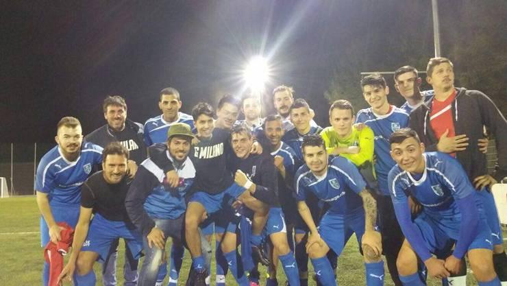 Das Team FC Frenkendorf, Trainer und Betreuer