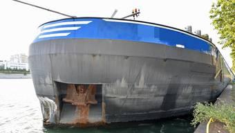 Rheinschiff-Unfall