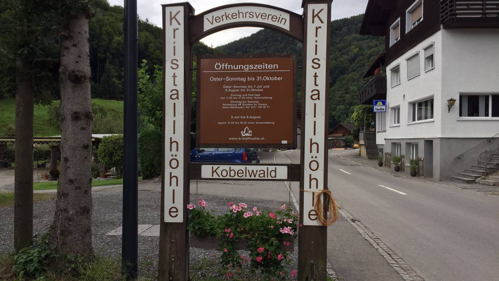 Was geschah in Kobelwald?