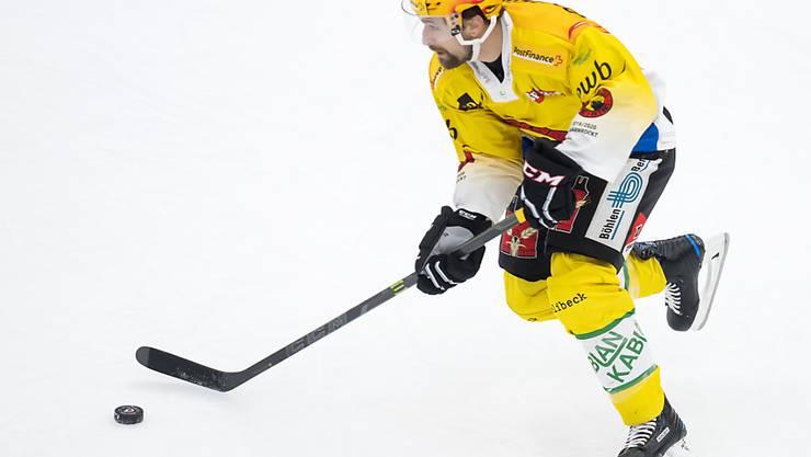 Mark Arcobello trug mit zwei Toren massgeblich zum Berner Sieg in Lausanne bei