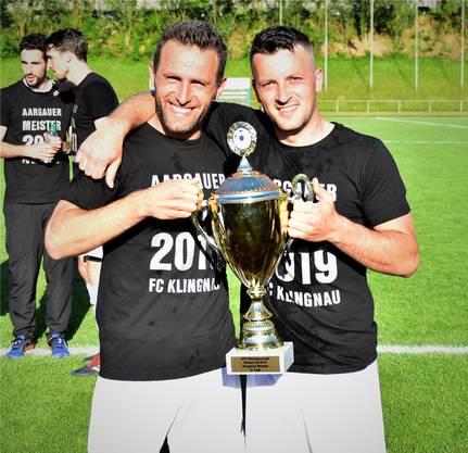 Shqiprim Thaqaj und Nexhdet Gusturanaj, die beiden Stürmer, erhalten einen neuen Coach.