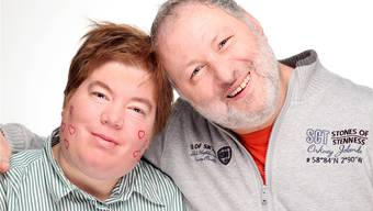 Das Paar Melanie Muggli und Rolf Weber hat sich beim Anlass Help-Portrait fotografieren lassen.zvg/Peter Miesch