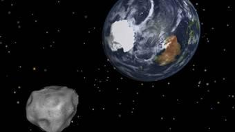 Kommt der Erde näher als der Mond: Asteroid 2012 DA14 (Symbolbild)