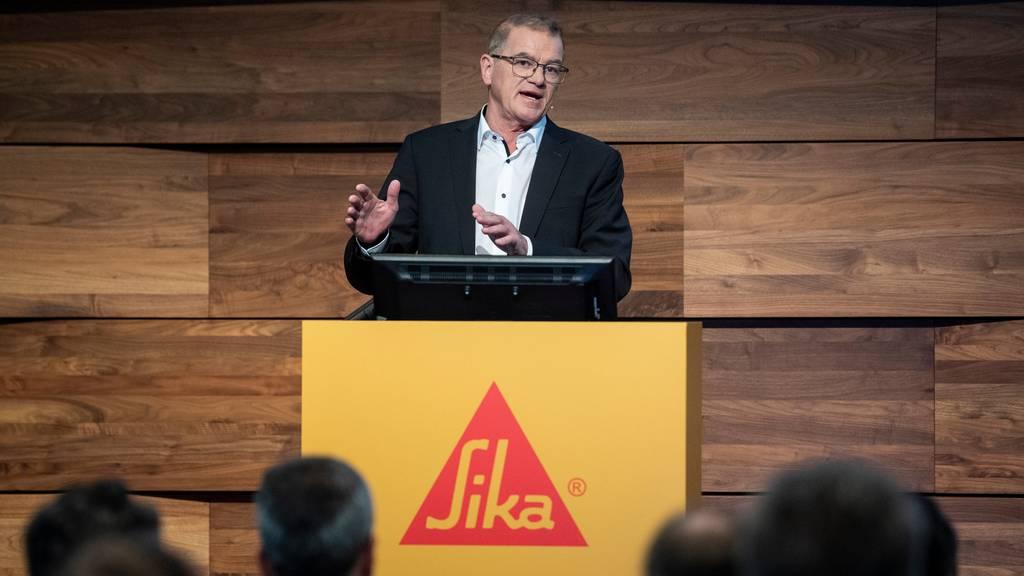 Sika macht 2019 Rekordgewinn und will weiterhin wachsen