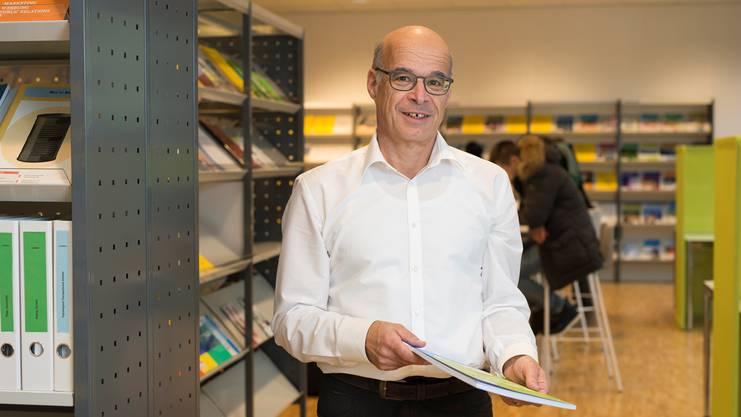 «Wir sind gut gestartet, aber die Resonanz bei den Unternehmen könnte noch grösser sein»: Thomas Eichenberger, Geschäftsführer Bildungsnetzwerk Baden.