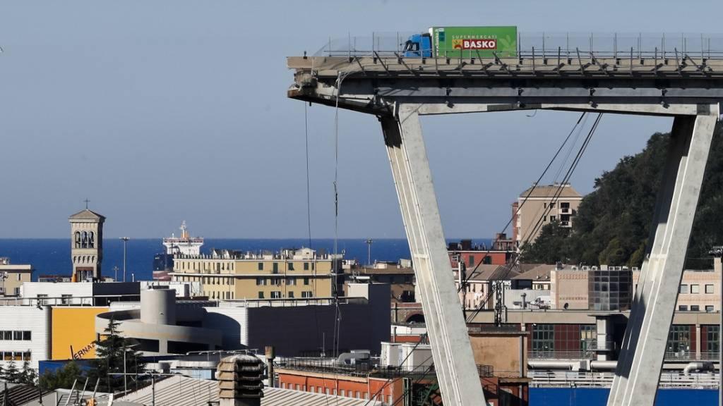 Voranhörung im Fall um Brückeneinsturz von Genua festgelegt