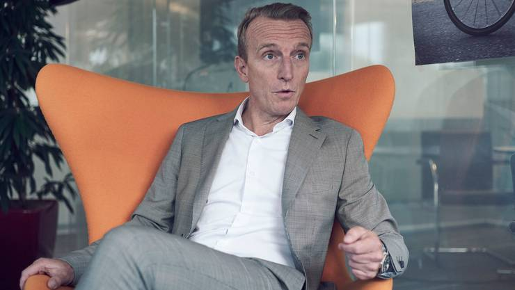 Mads Larsen, Der Schweiz-Chef von British American Tobacco, in seinem Lausanner Büro.