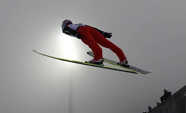 Simon Ammann fliegt zu WM-Bronze