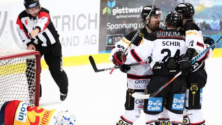 Der EHC Basel möchte seinen Siegeszug auch in den Playoffs fortsetzen.