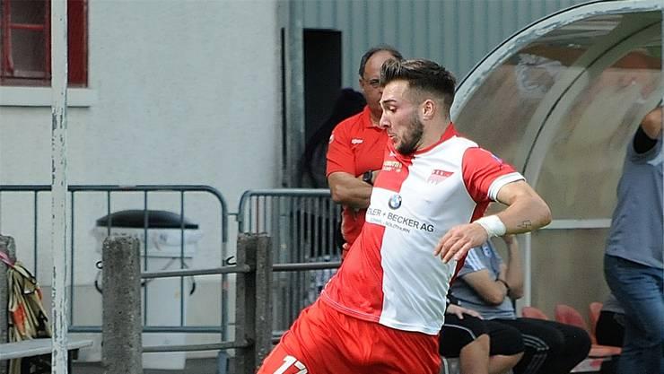 Überzeugt mit seinen drei Toren gegen Zug 94: Emmanuel Mast.