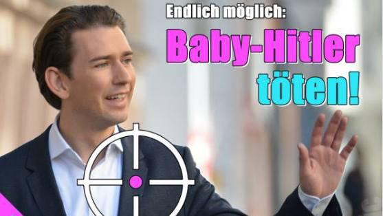 Baby Hitler Toten Magazin Provoziert Mit Diesem Sujet Nach