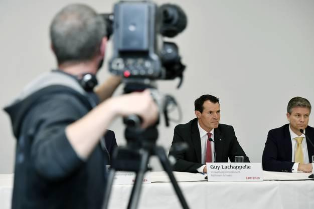 Die Raiffeisen-Delegierten haben Lachappelle an ihrer Delegiertenversammlung zum neuen VR-Präsidenten gewählt.
