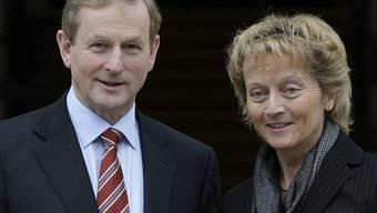 Bundesrätin Widmer-Schlumpf mit dem irischen Premier Enda Kenny