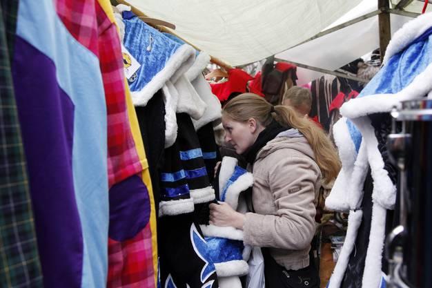 Der Langenthaler Fasnachtsmarkt  in Bildern