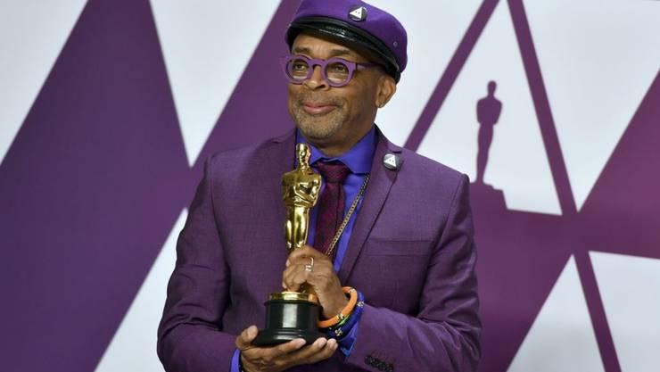 """Spike Lee wurde am 24. Februar 2019 für sein adaptiertes Drehbuch zur Polit-Satire """"BlacKkKlansman"""" mit einem Oscar ausgezeichnet."""