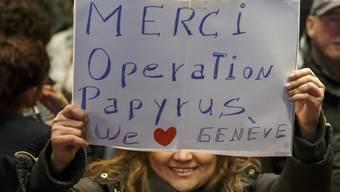"""Operation """"Papyrus"""": Das Programm zur erleichterten Legalisierung von Sans-Papiers in Genf wurde 2017 gestartet. (Archivbild)"""