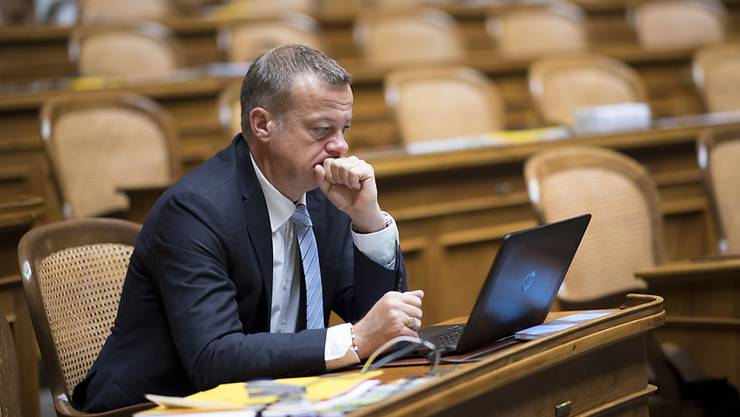 """""""Detailversessen und kleinkrämerisch"""": BDP-Präsident und Nationalrat Martin Landolt kritisiert den Parlamentsbetrieb. (Archivbild)"""