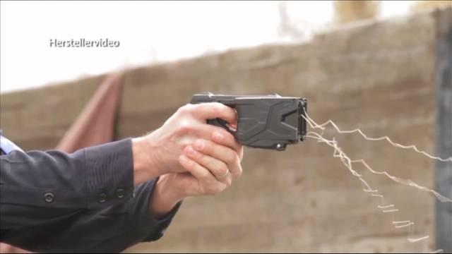 Taser-Verbot für Regionalpolizeien