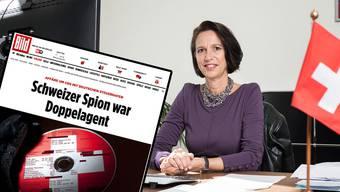 Christine Schraner-Burgener, Schweizer Botschafterin in Berlin, musste vor dem deutschen Aussenministerium antraben.