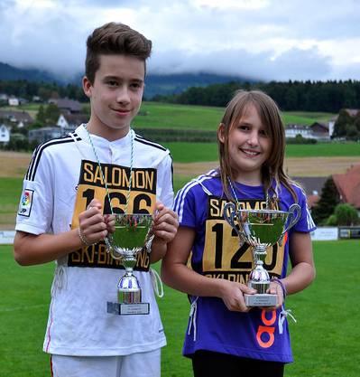 Die Gewinner des Wanderpokals 2014