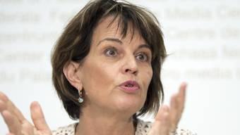 Vorläufig entlastet: Die parlamentarische Aufsicht hat keinen Beleg dafür gefunden, dass die ehemalige Bundesrätin Doris Leuthard von den Buchungstricks bei PostAuto wusste. (Archivbild)