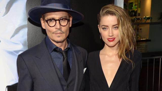 Muss sich schleunigst bessern: Johnny Depp mit Amber Heard (Archiv)