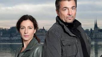 Tatort-Kommissare: Delia Mayer und Stefan Gubser (Bild: SRF)