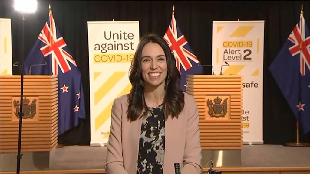 Neuseelands Premierministerin bleibt auch bei Erdbeeben cool