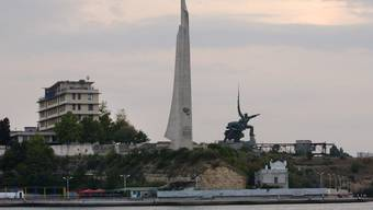 Der Hafen von Sewastopol.