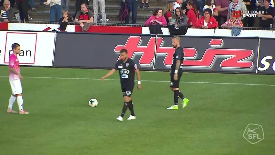 Highlights FC Aarau - FC Schaffhausen (22.09.2019)