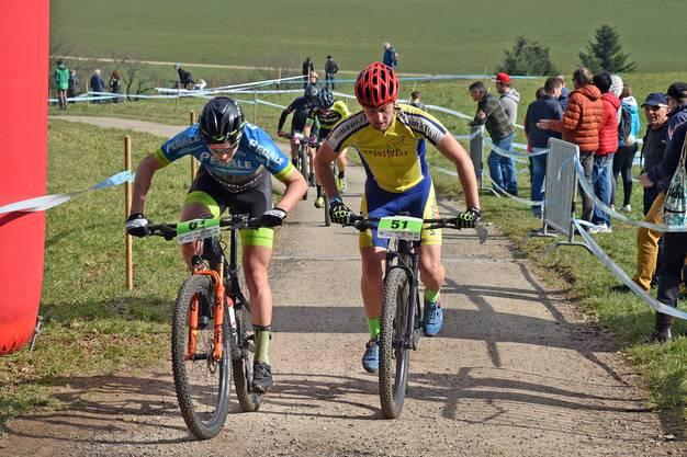Die Mountainbike-Rennserie umfasst insgesamt sechs Läufe.
