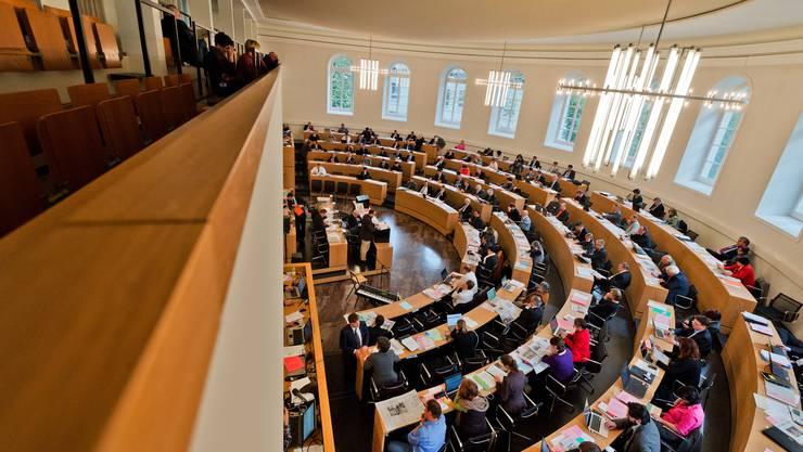 Der Aargauer Grosse Rat: Das «alte» Parlament hat reinen Tisch gemacht