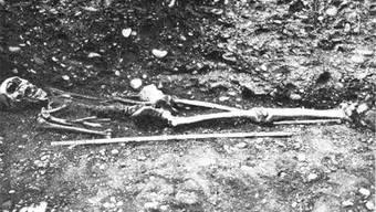Vor 80 Jahren stiessen Bauarbeiter in der Telli auf Gebeine.