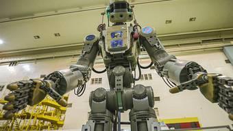 Weltraum-Roboter Fedor hat alle Arbeiten nach Plan erledigt. (Archivbild)
