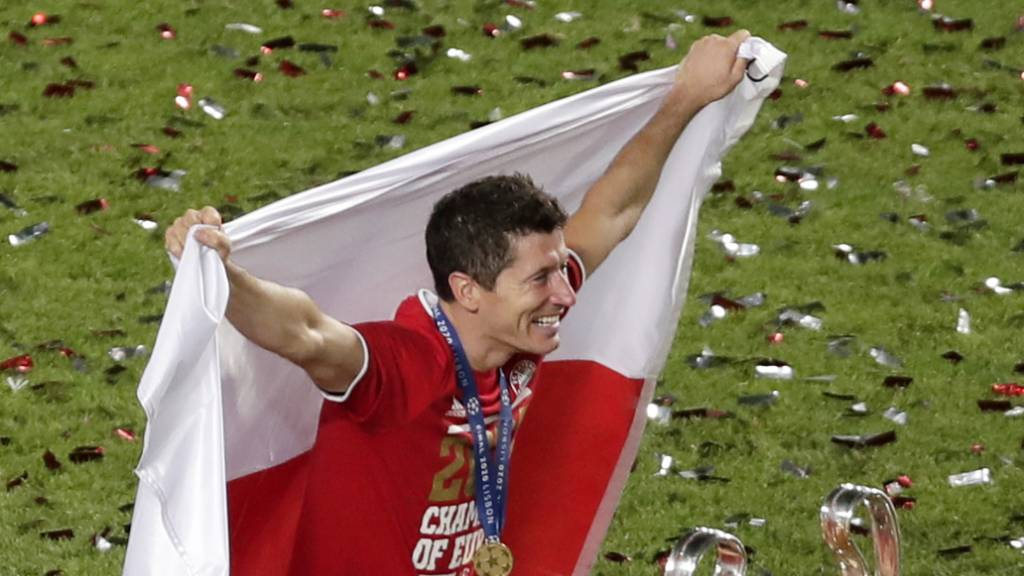Lewandowski Favorit auf die Wahl zum Weltfussballer des Jahres