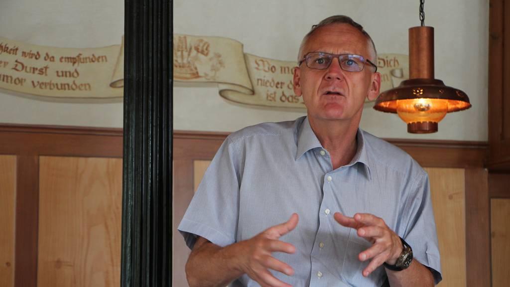 Karl Locher, Mitinhaber der Brauerei Locher