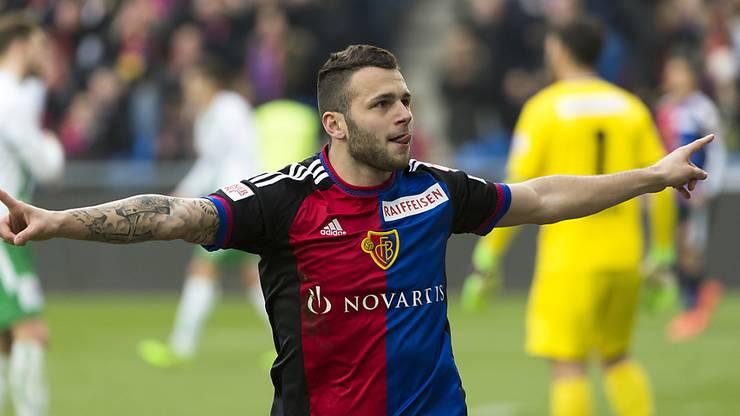 Wechselte in der Winterpause zum FCB: Renato Steffen.