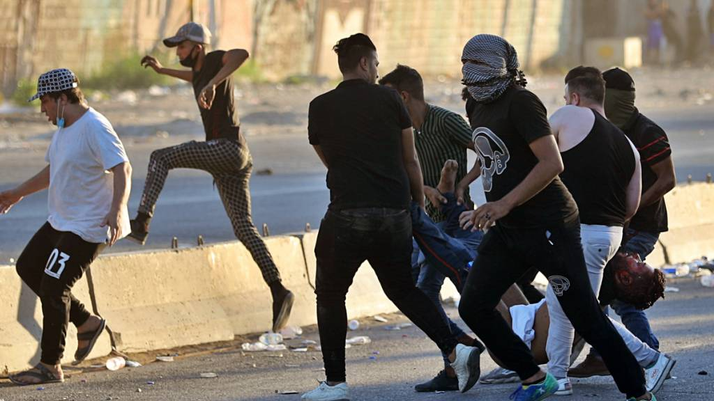 Zahl der Toten bei Protesten im Irak steigt auf mehr als 90