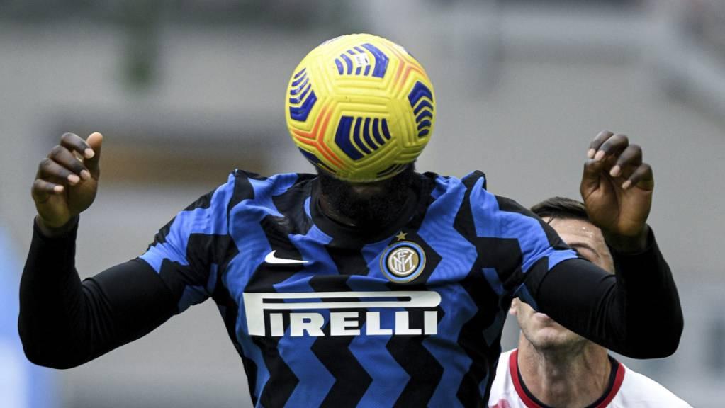 Romelu Lukaku traf gegen Crotone zum 4:2, musste danach aber ausgewechselt werden